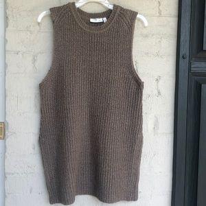 Anthropologie sleeveless sweater